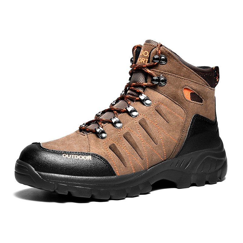 Comfortable Light Weight Outdoor Hiking Men Shoes