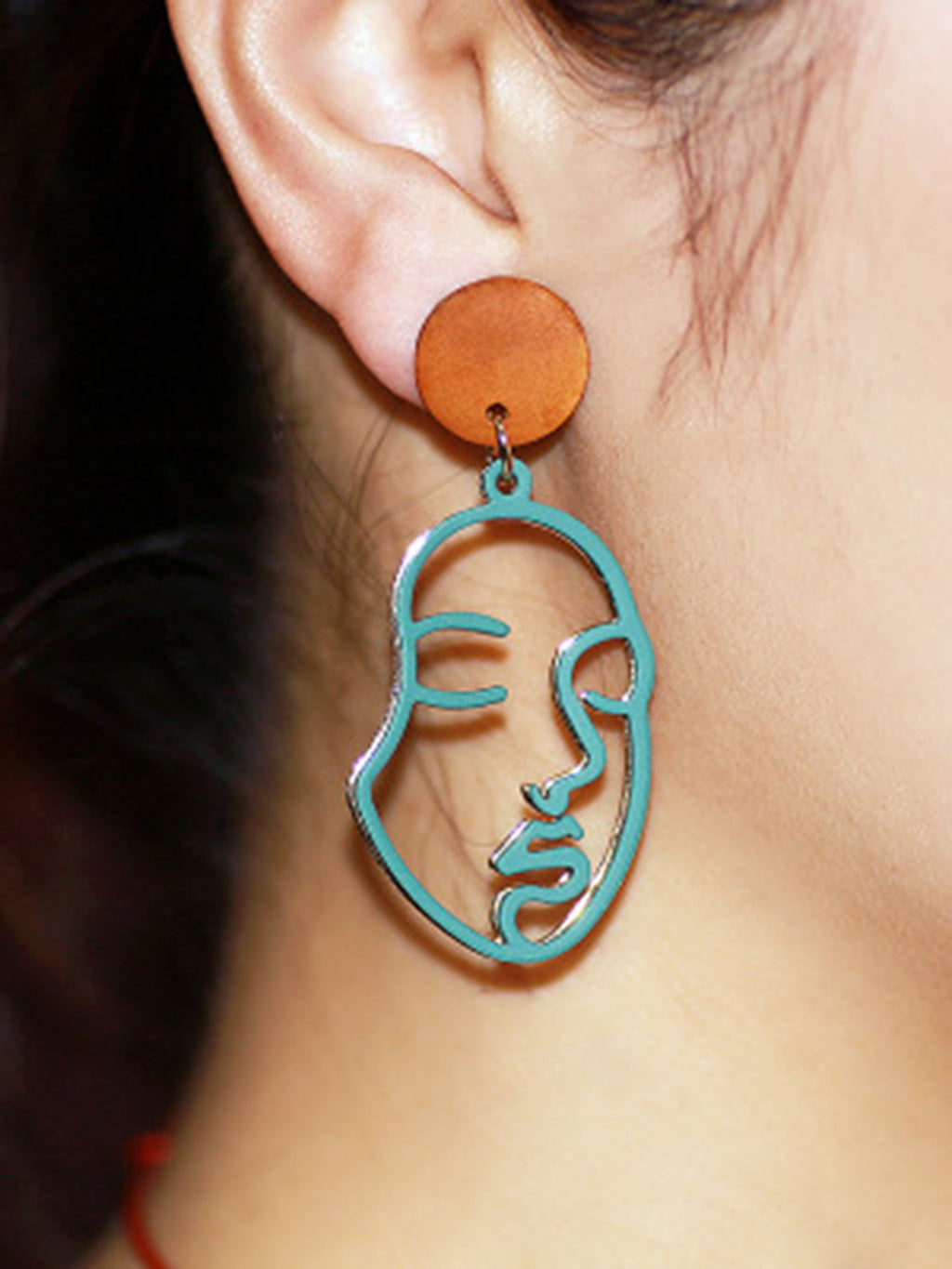 Simple Retro Alloy Women Earrings