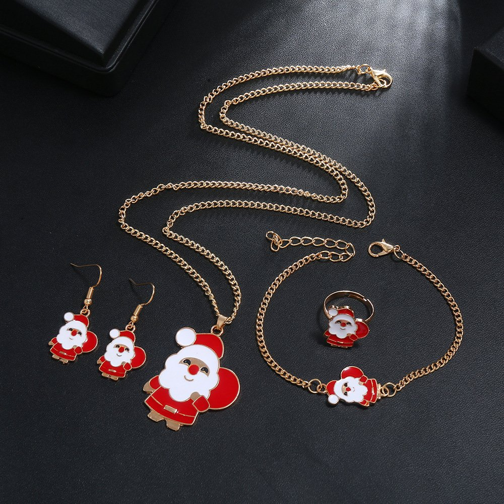 Red Alloy Necklaces