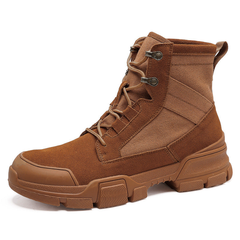 Men's High Top Martin Boots Outdoor Tooling Shoes Large Size