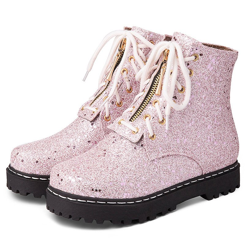 Women Winter Sequin Fashion Boots
