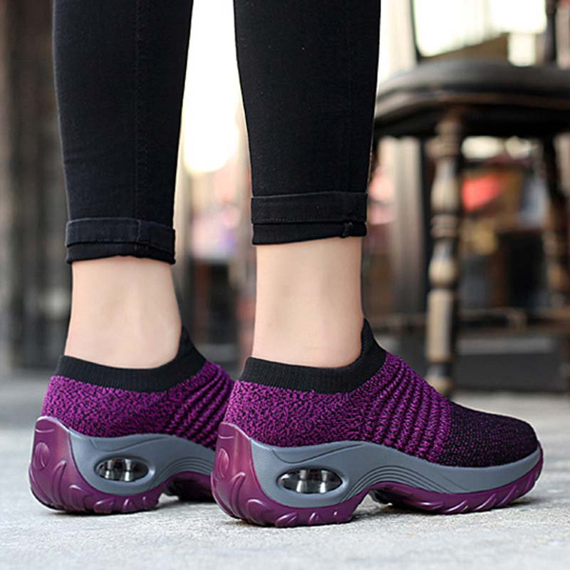 All Season Casual Flyknit Fabric Shoes