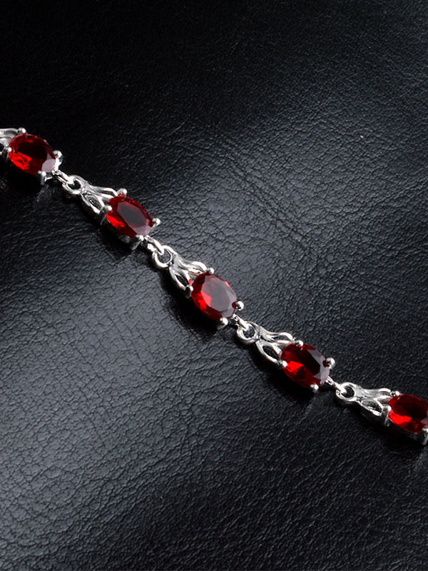 Fashion Ruby Bracelet