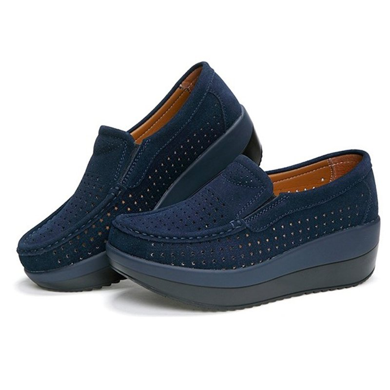 Hollow-out Comfy Casual Loafers