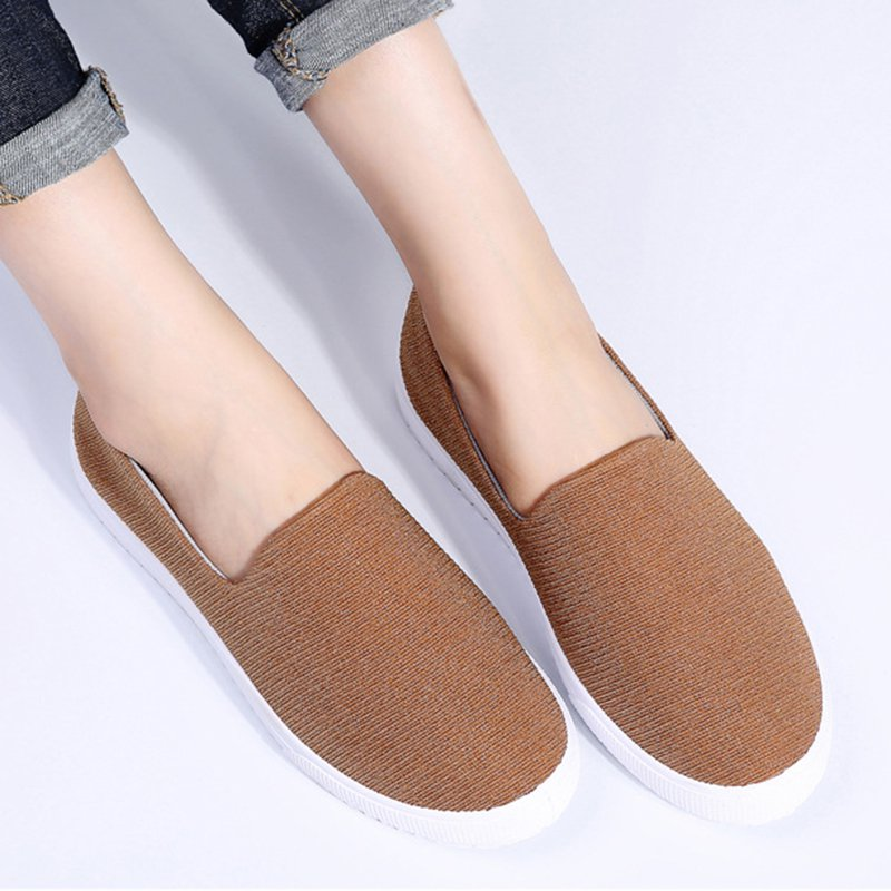 Women's Breathable Loafers Slip On Chic Shoes