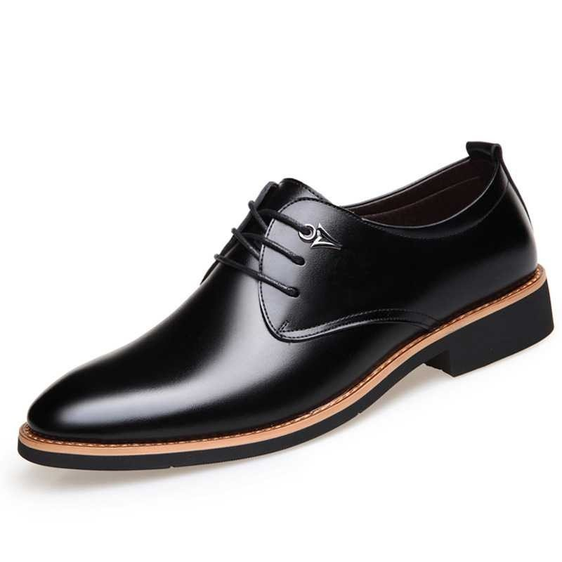 Casual Simple Style Male Business Shoes