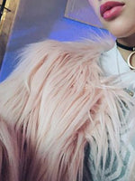 Women Shaggy and Soft Warm Faux Fur Coat Chic Outerwear Jacket Fluffy Many Colors