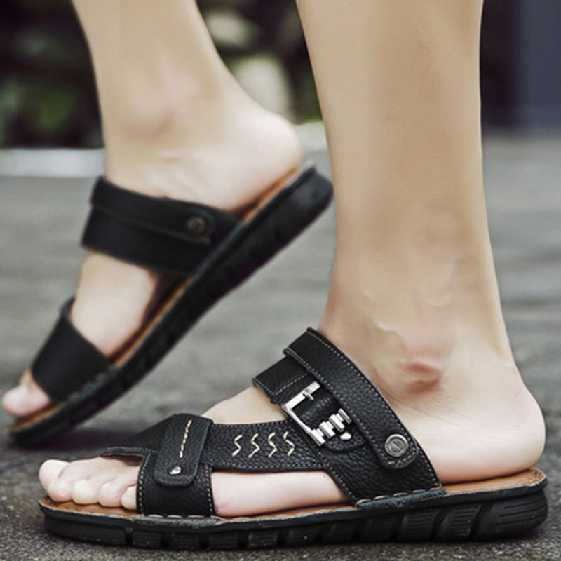 Wearable Lightweight Leather Sandals