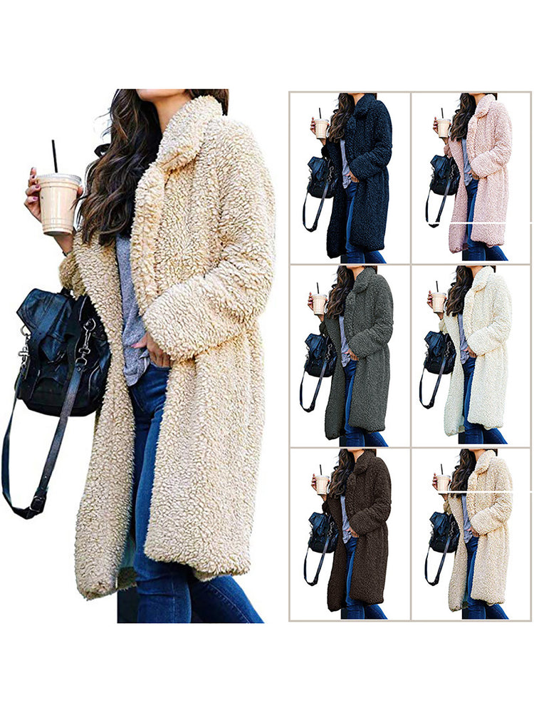 Shaggy and soft teddy coats Winter Fashion Outerwear