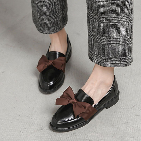 Micro Leather Spring/fall Loafers