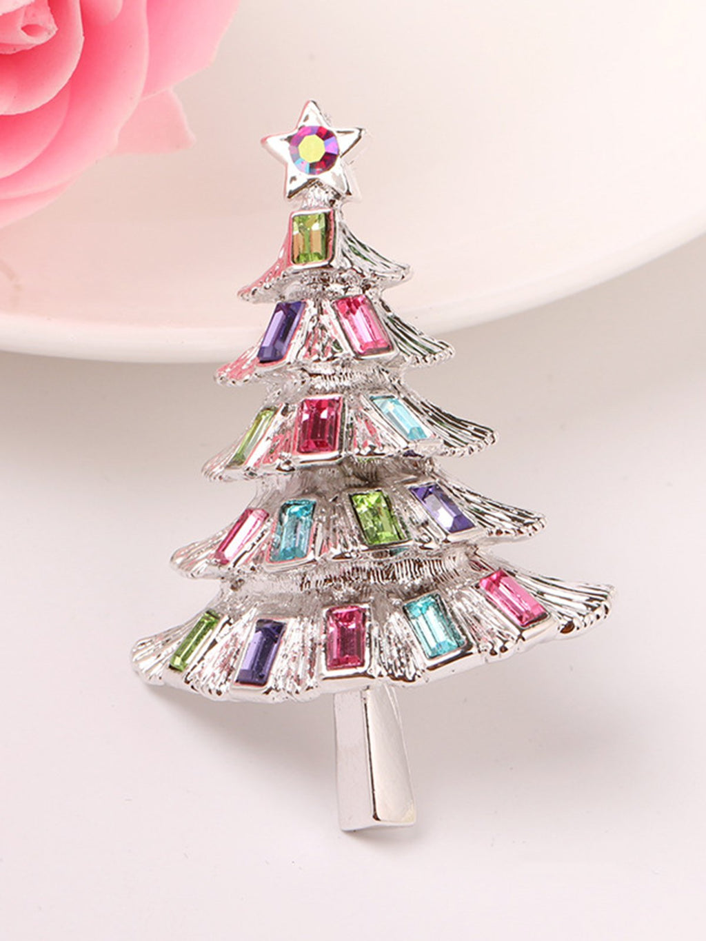 Alloy Sweet Chrismas Brooch