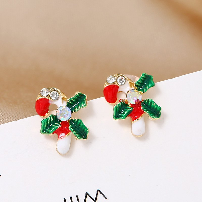 Simple Fashion Gift Christmas Earrings