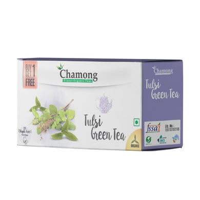 Tulsi Green Tea Regular Tea Bags - 50