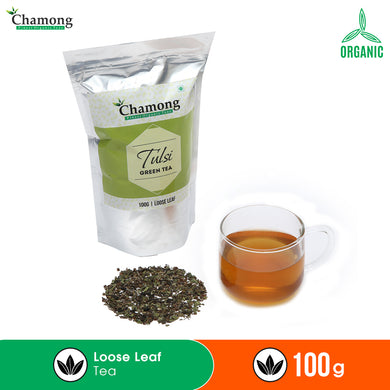 Tulsi Green Tea in Standy Pouch