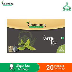 Green Tea Pyramid Tea Bag - 20