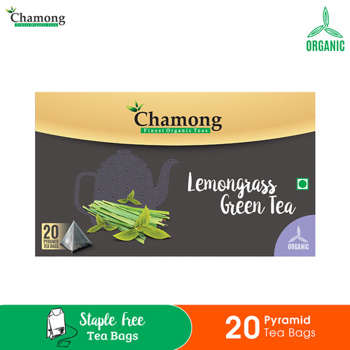 Lemongrass Green Pyramid Tea Bag -  20