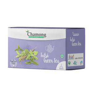 Tulsi Green Envelope Tea Bags - 25