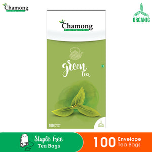 Green Envelope Tea Bags - 100