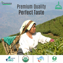 Premium Green Loose Leaf Tea in Pinewood Chestlet 100g