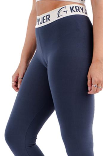 Womens Legacy Legging Grey/White
