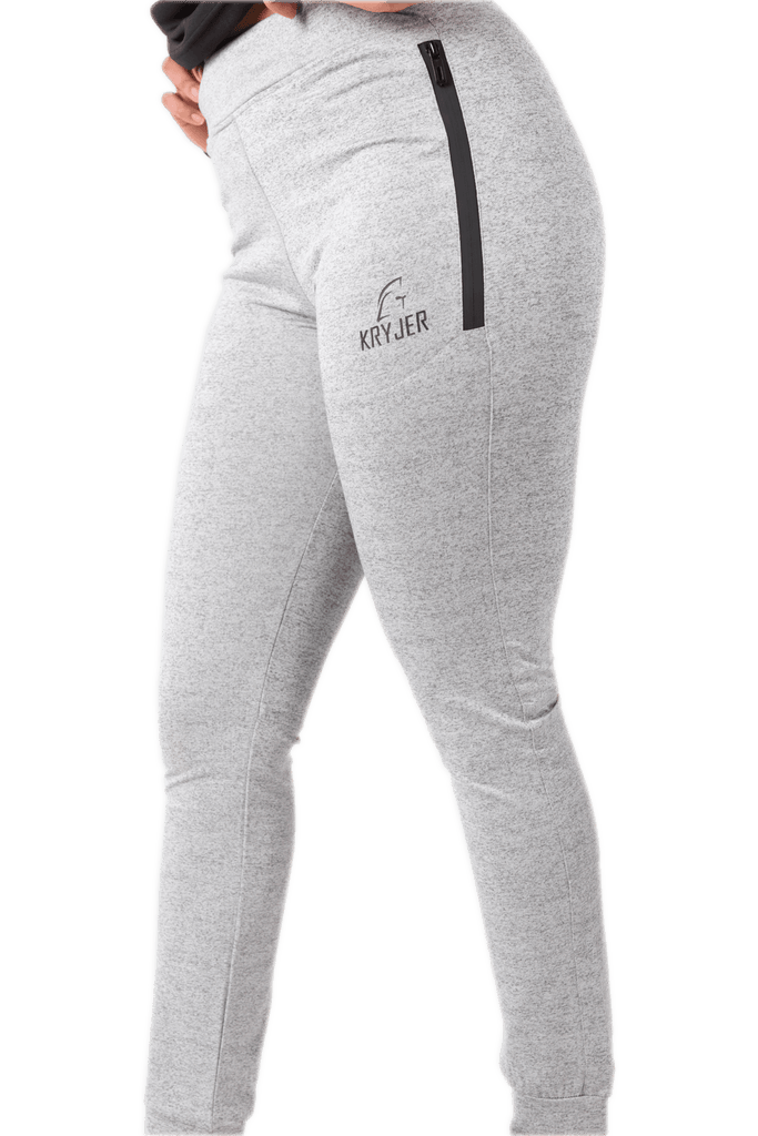 Womens Activewear Trousers Grey - Kryjer