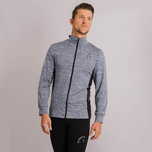 Kryjer Drive Track Top Dark Grey/Black