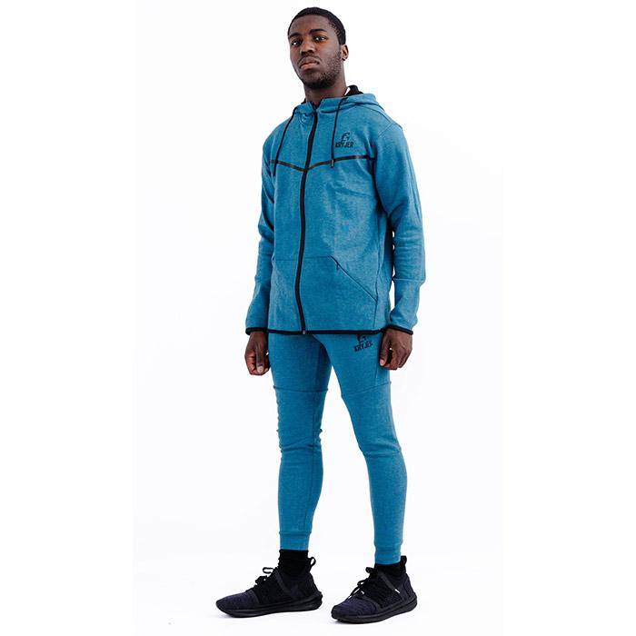 Mens Urban Collection Blue Hoodie