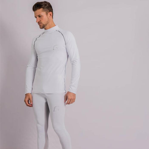 Kryjer Drive Compression Tights White