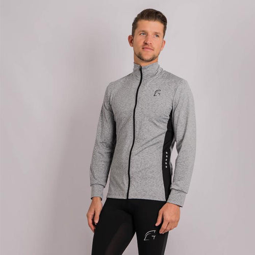Kryjer Drive Track Top Grey/Black