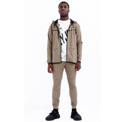Mens Urban Collection Olive Hoodie