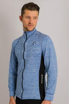 Kryjer Drive Track Top Light Blue/Black