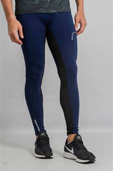 Kryjer Drive Compression Tights Blue