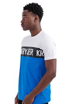 Metro Tshirt Blue and Black Stripe