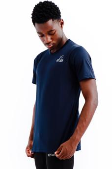 Mens Training Top Navy