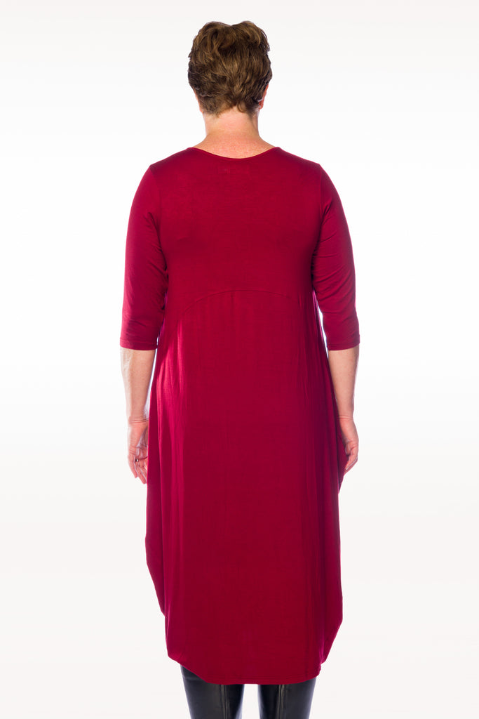 Sally Dress Elbow length sleeves