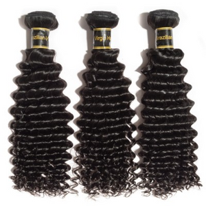 1B Natural color Brazillian virgin human hair bundles