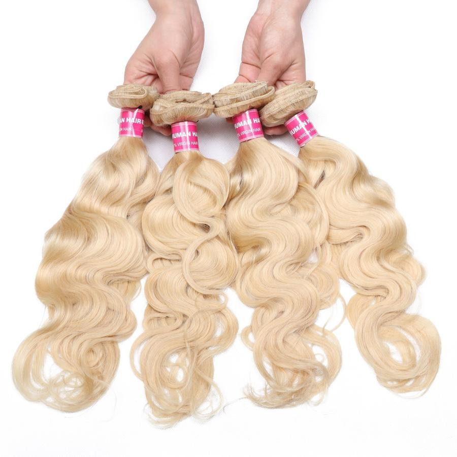 Super high quality Blonde hair bundles by Wonderfully Designed
