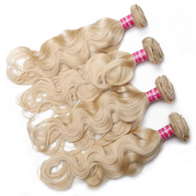 Load image into Gallery viewer, Super high quality Blonde hair bundles by Wonderfully Designed