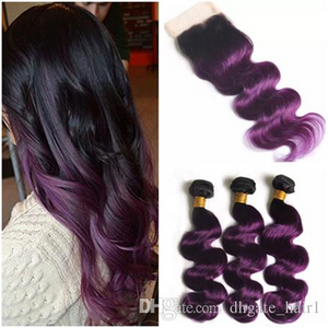 Purple deep wave Brazillian human  hair by Wonderfully Designed