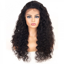 Load image into Gallery viewer, 20 inch deep wave Brazilian lace front wig