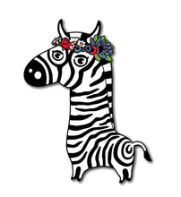Load image into Gallery viewer, Timon the Zebra - Enamel Pin