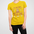 I'm Just Here For The Candy Halloween WOMEN'S TSHIRT