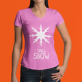 I Smell Snow WOMEN'S TSHIRT