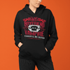 The Vampire Diaries My Boyfriend Is A Vampire Careful He Bites UNISEX PULLOVER HOODIE