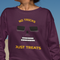 No Tricks Just Treats Halloween  UNISEX CREW NECK SWEATSHIRT