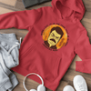 When I eat it is the food that is scared UNISEX PULLOVER HOODIE - Ron Swanson - Parks and Recreation