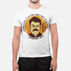 When I eat it is the food that is scared MEN'S T-SHIRT - Ron Swanson - Parks and Recreation