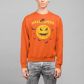 Halloween Moon UNISEX CREW NECK SWEATSHIRT
