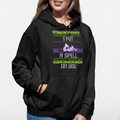 i Put a Spell On You  Halloween UNISEX PULLOVER HOODIE