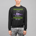 i Put a Spell On You  Halloween UNISEX CREW NECK SWEATSHIRT